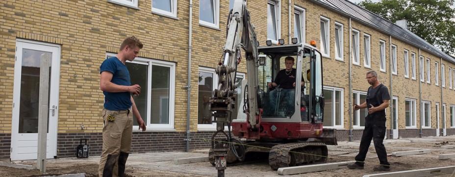Eerste nieuwbouw Locomotiefstraat opgeleverd