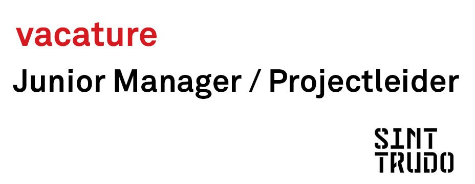 Vacature: Junior Manager / Projectleider