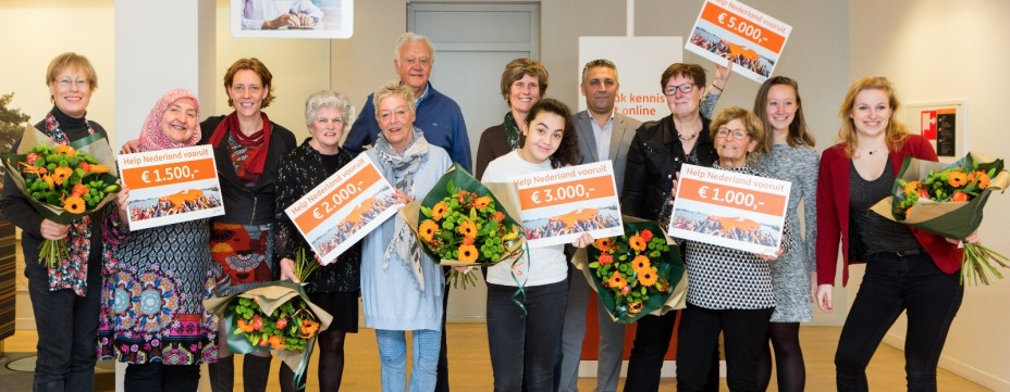 Kids Plus project op de tweede plaats bij Help Nederland vooruit