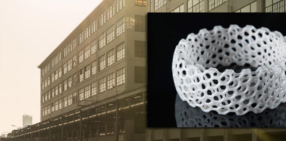 Eerste 3D-printfabriek in Nederland komt in gebouw Gerard op Strijp-S