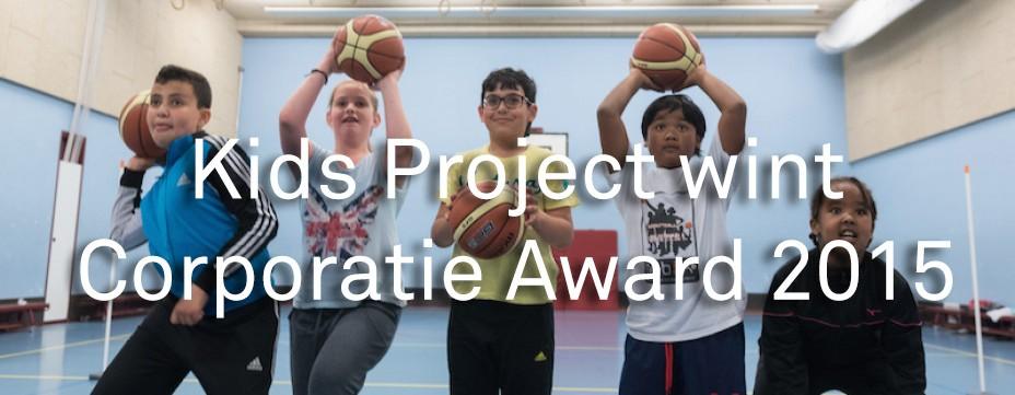 Eerste prijs voor The Kids in Woensel-West!