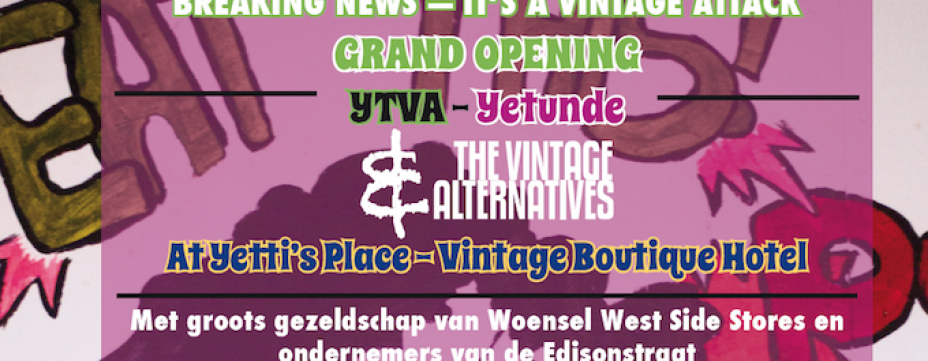 Grand Opening Yetunde & The Vintage Alternatives